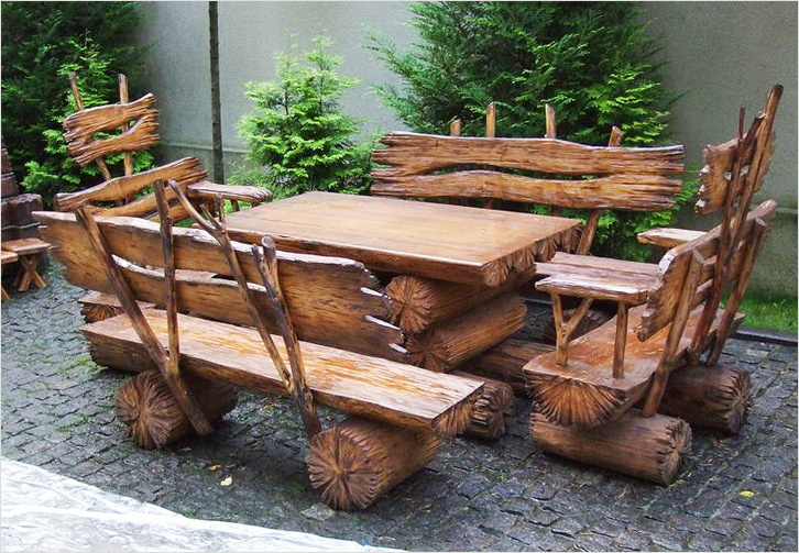 Изделия из дерева для дачи своими руками чертежи
