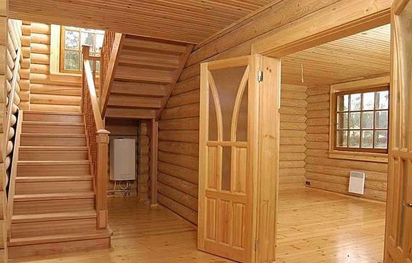 Деревянных домов из клееного